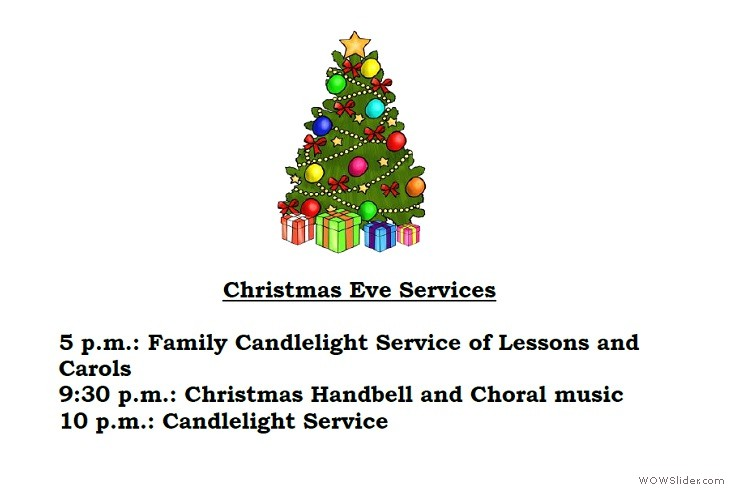12242018 Christmas Eve Services