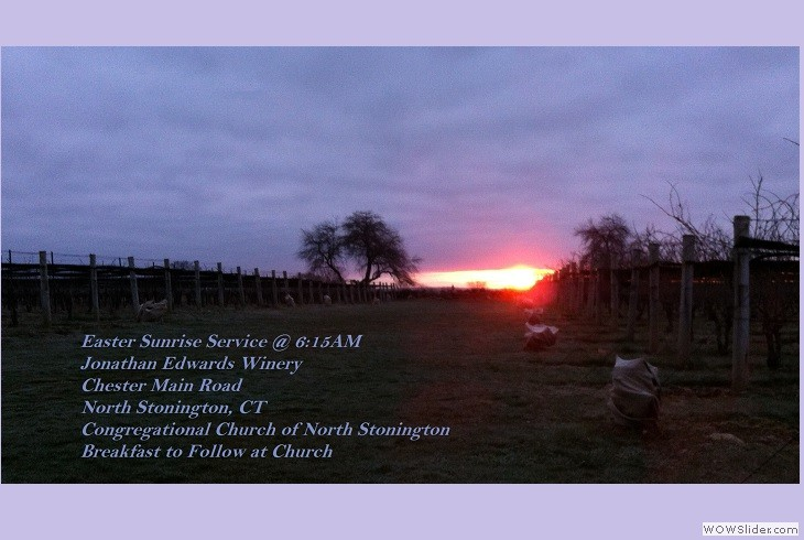 2018 Easter Sunrise Service April 1st