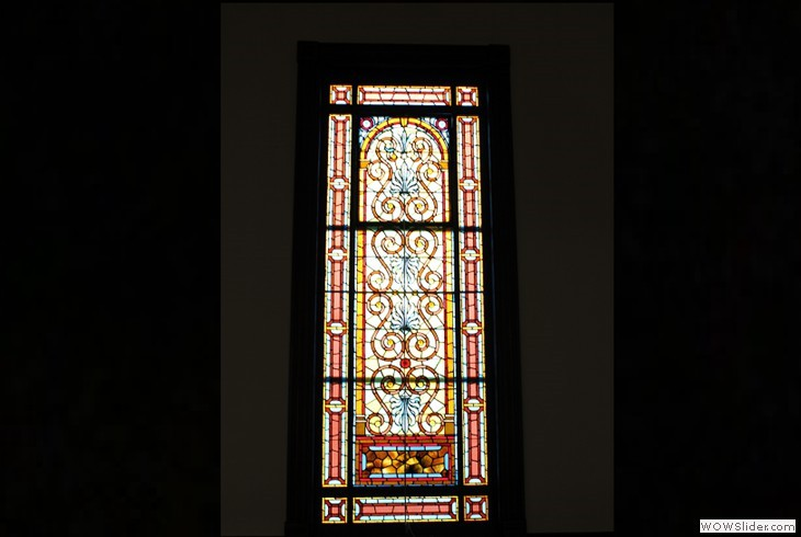 One of the Many Church's Tiffany Windows