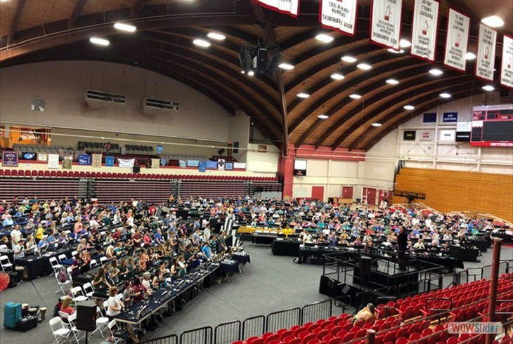 2019 Area 1  Handbell Festival Conference at University of  Hartford.  Over 500 Ringers