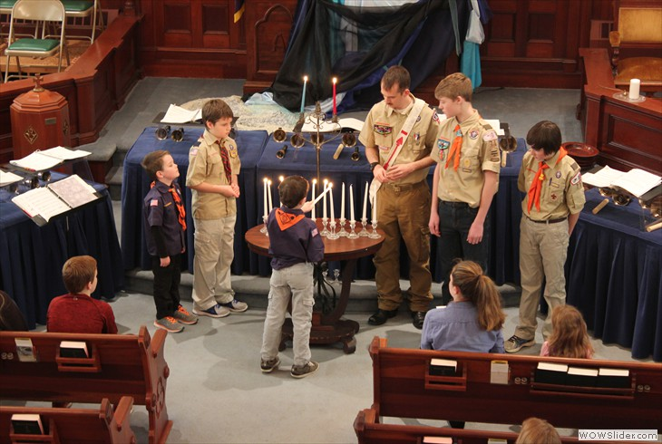 A Scout is Obediant and Cheerful