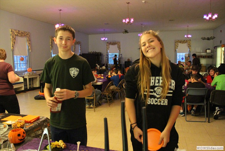 Christian Education's Halloween Party October 30th in Hewitt Hall. Pics by the Stocks