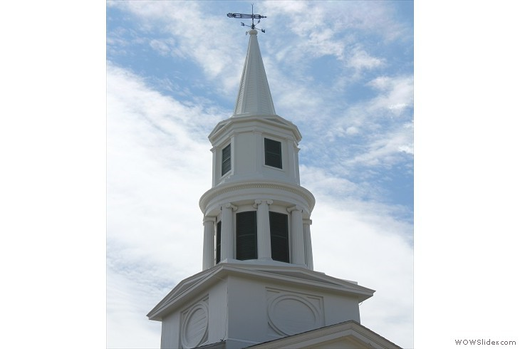 steeple completed August 4, 2013